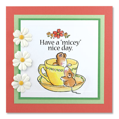 MICEY DAY Penny Black Clear Acrylic Art Stamps Mouse/Mice/Critters